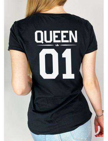 Koszulka damska Queen 01 czarna