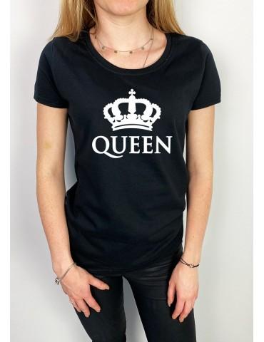 Koszulka damska Queen czarna