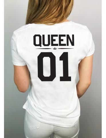 Koszulka damska Queen 01 biała