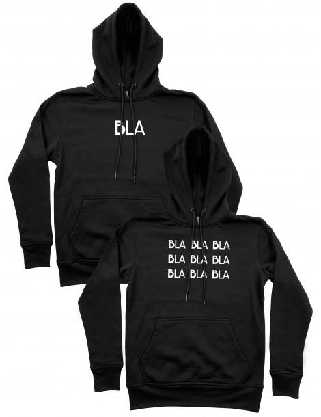 Bluzy dla par Bla bla bla czarne