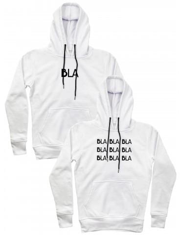 Bluzy dla par Bla bla bla białe