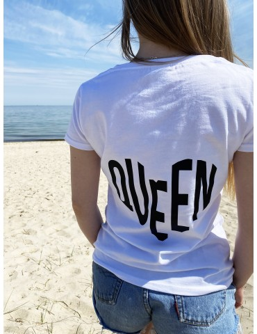 Koszulka Queen serce czarna /rozm. XS/