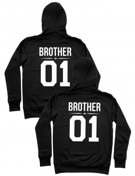 Bluzy dla braci i przyjaciół Brother 01 Brother 01 z kapturem
