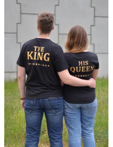 Dwie koszulki dla niej i dla niego The King i His Queen