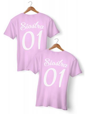 Siostra 01 dwie koszulki dla sióstr i przyjaciółek - Akomu