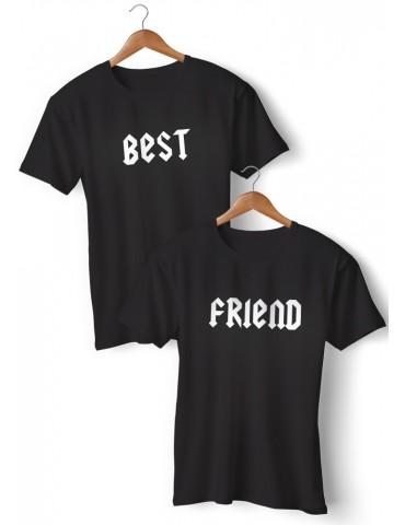 BEST FRIEND koszulki dla przyjaciółek 2 szt. - Akomu.pl